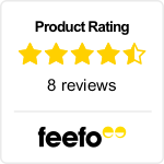 Feefo Product Rating - The Pacific Northwest's Coastal Treasures featuring the San Juan Islands and Victoria, B.C.
