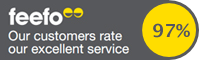 Our customers rate our service...