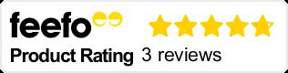 Feefo rating