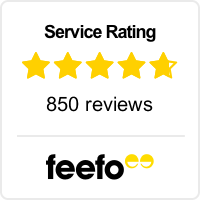 Feefo Service Rating image, read all our independent reviews