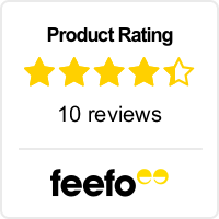 Feefo Product Rating image, read our independent reviews for this hotel