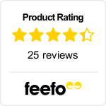 Feefo Product Rating - The Complete South America